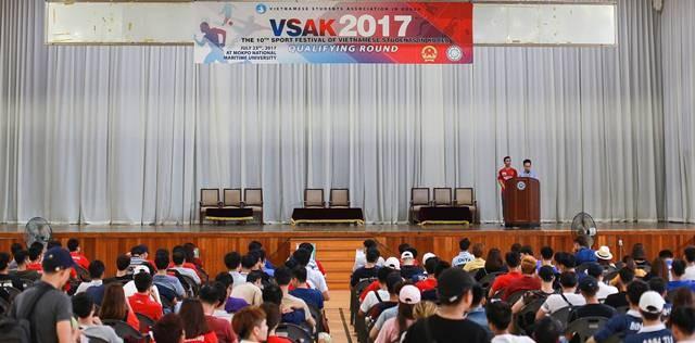 Những trận đấu sôi nổi trong khuôn khổ Đại hội thể dục thể thao của VSAK - ảnh 7