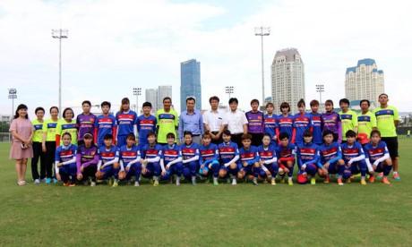 Đội tuyển U22 và Đội tuyển nữ Việt Nam lên đường tập huấn chuẩn bị  cho SEA Games 29 - ảnh 1