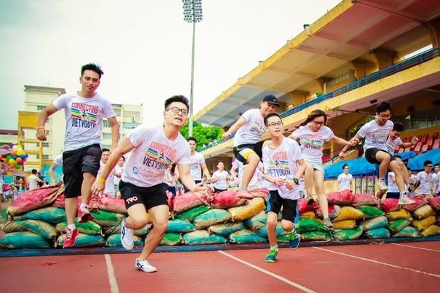 """Giải chạy """"Conecting Việt Youth - Kết nối tuổi trẻ Việt"""" gây quỹ từ thiện tổ chức tại Hà Nội  - ảnh 1"""