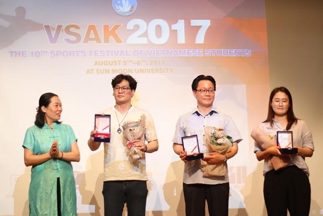 Sôi nổi Đại hội thể dục thể thao sinh viên VN tại Hàn Quốc lần thứ 10 - ảnh 11