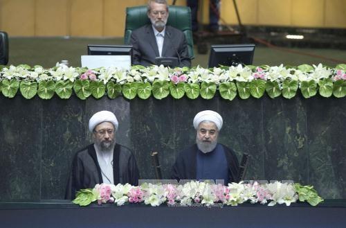 Bộ trưởng, Chủ nhiệm Văn phòng Chủ tịch nước Đào Việt Trung dự lễ nhậm chức của Tổng thống Iran - ảnh 1