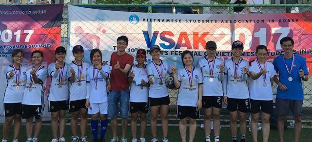 Sôi nổi Đại hội thể dục thể thao sinh viên VN tại Hàn Quốc lần thứ 10 - ảnh 15
