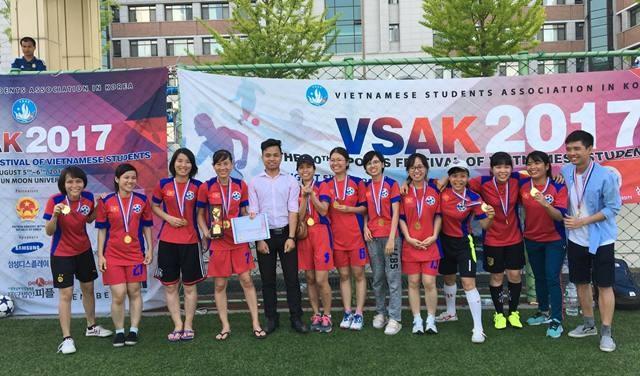 Sôi nổi Đại hội thể dục thể thao sinh viên VN tại Hàn Quốc lần thứ 10 - ảnh 14