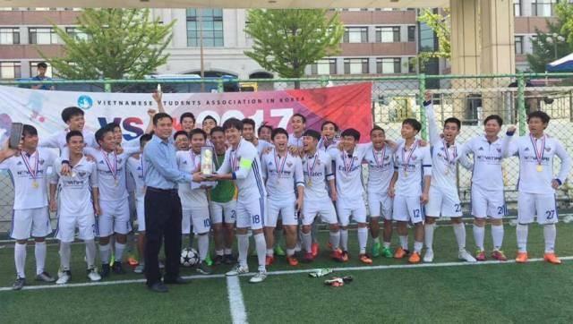 Sôi nổi Đại hội thể dục thể thao sinh viên VN tại Hàn Quốc lần thứ 10 - ảnh 13
