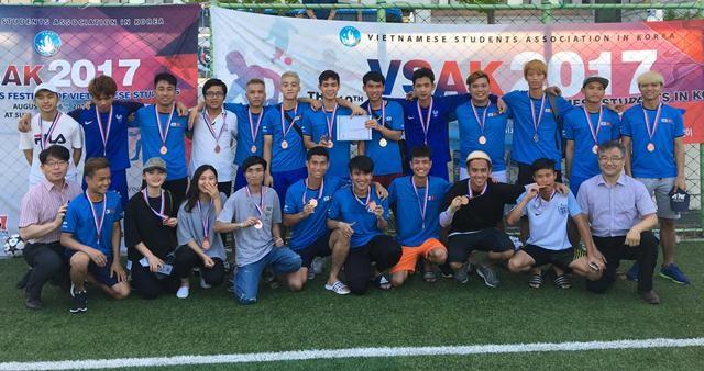Sôi nổi Đại hội thể dục thể thao sinh viên VN tại Hàn Quốc lần thứ 10 - ảnh 4