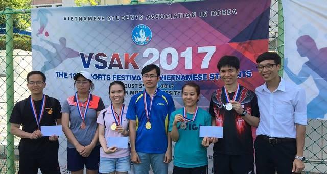 Sôi nổi Đại hội thể dục thể thao sinh viên VN tại Hàn Quốc lần thứ 10 - ảnh 18