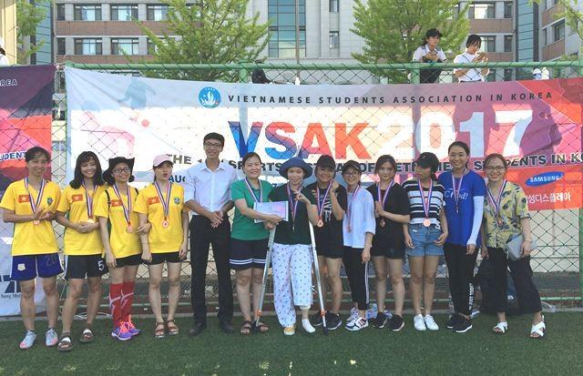Sôi nổi Đại hội thể dục thể thao sinh viên VN tại Hàn Quốc lần thứ 10 - ảnh 16