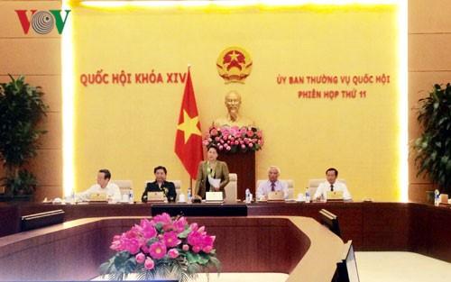 Khai mạc phiên họp thứ 13 Ủy ban Thường vụ Quốc hội - ảnh 1