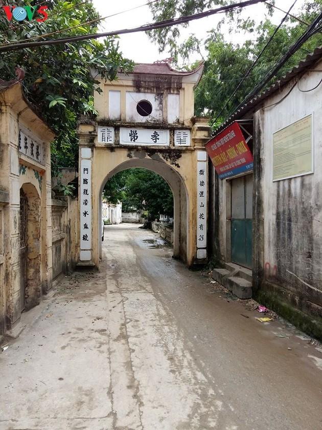 Nét kiến trúc truyền thống và kiến trúc Pháp ở làng Cự Đà - ảnh 1