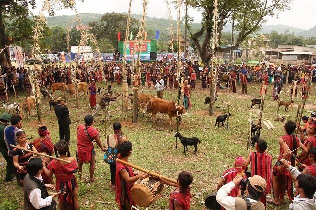 Lễ hội Ariêu ping của dân tộc Pa kô  - ảnh 1