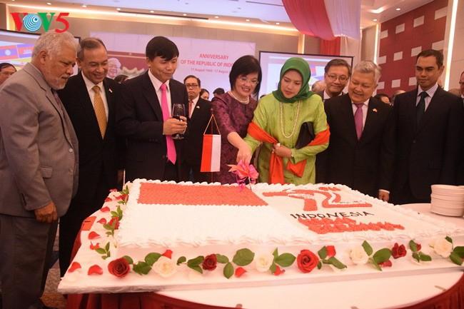 Chiêu đãi kỷ niệm 72 năm Quốc khánh Indonesia - ảnh 2