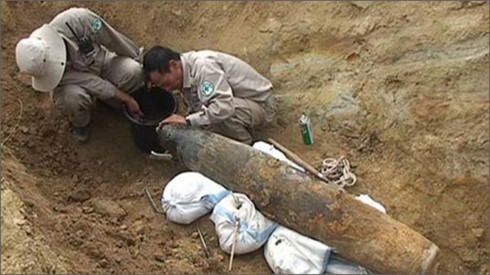 Hội thảo tại Thụy Sĩ về quản lý rủi ro bom mìn, vật liệu nổ sót lại sau chiến tranh - ảnh 1