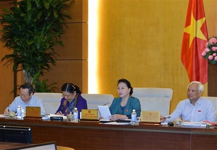 Ủy ban Thường vụ Quốc hội thảo luận báo cáo về công tác phòng chống tham nhũng - ảnh 1