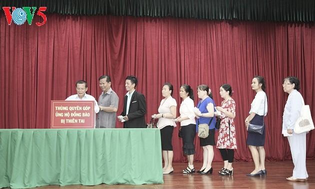 Cộng đồng người Việt Nam tại Lào đóng góp ủng hộ đồng bào bị ảnh hưởng bởi thiên tai - ảnh 2
