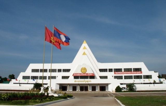 Động thổ Nhà Quốc hội Lào - quà tặng của Đảng, Nhà nước và nhân dân Việt Nam - ảnh 1