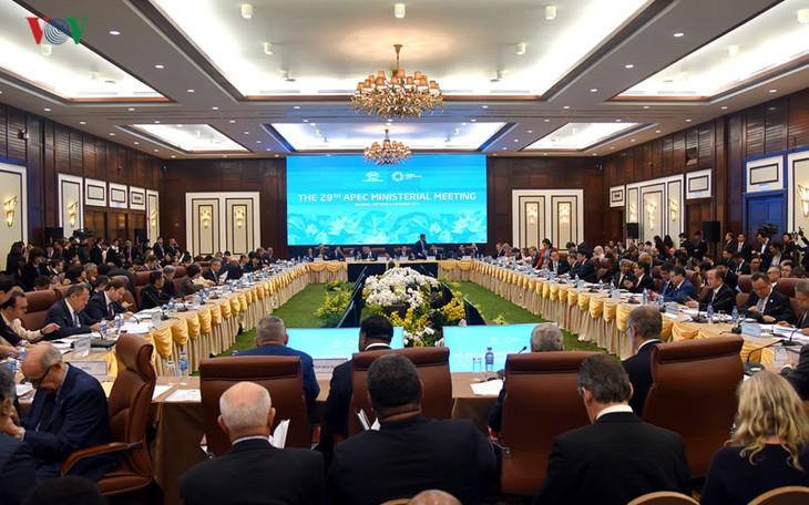 Khai mạc Hội nghị Liên Bộ trưởng Ngoại giao-Kinh tế APEC lần thứ 29 (AMM 29) - ảnh 1