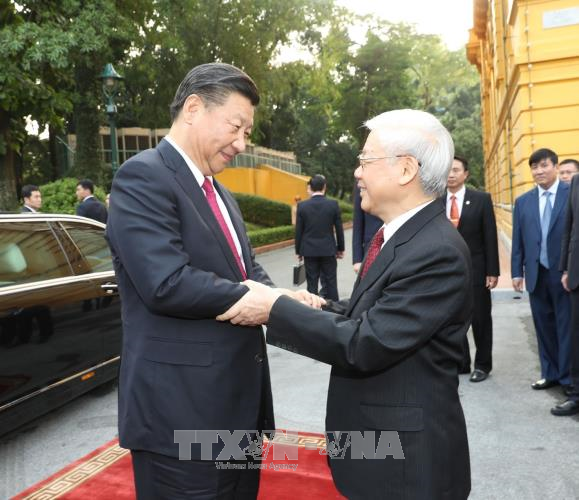 Lễ đón chính thức Tổng Bí thư, Chủ tịch Trung Quốc Tập Cận Bình - ảnh 3