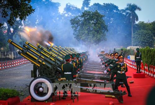 Lễ đón chính thức Tổng Bí thư, Chủ tịch Trung Quốc Tập Cận Bình - ảnh 2
