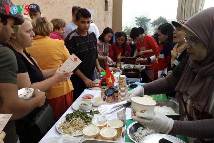 Hội chợ văn hóa, ẩm thực châu Á tại Ai Cập - ảnh 1