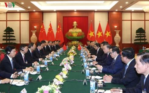 Hội đàm cấp cao Việt Nam - Trung Quốc  - ảnh 1