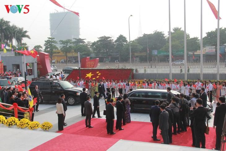 Lãnh đạo cấp cao Việt Nam tiếp đoàn đại biểu tham dự Diễn đàn Nhân dân Việt - Trung lần thứ 9 - ảnh 1