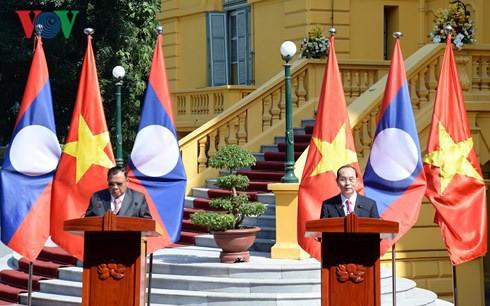 Thúc đẩy quan hệ Việt Nam - Lào phát triển lên tầm cao mới - ảnh 1