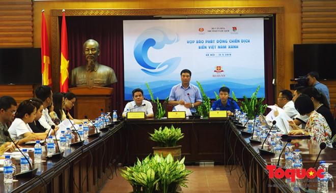 """Sắp diễn ra chiến dịch bảo vệ môi trường """"Biển Việt Nam xanh"""" - ảnh 1"""
