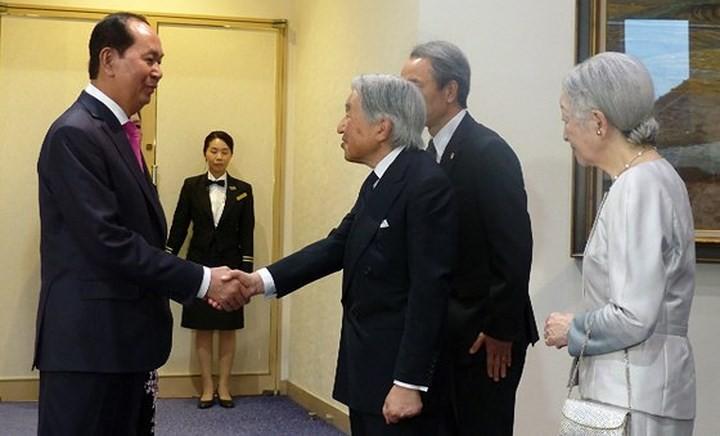 Chủ tịch nước Trần Đại Quang kết thúc tốt đẹp chuyến thăm cấp Nhà nước tới Nhật Bản - ảnh 2
