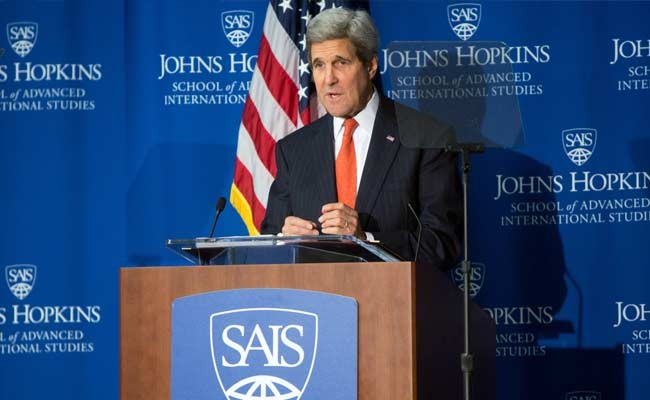 US Secretary of State John Kerry hosts first anti-Islamic State coalition meeting - ảnh 1
