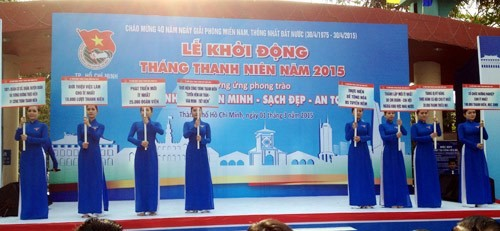 2015 Youth Month launched nationwide - ảnh 1