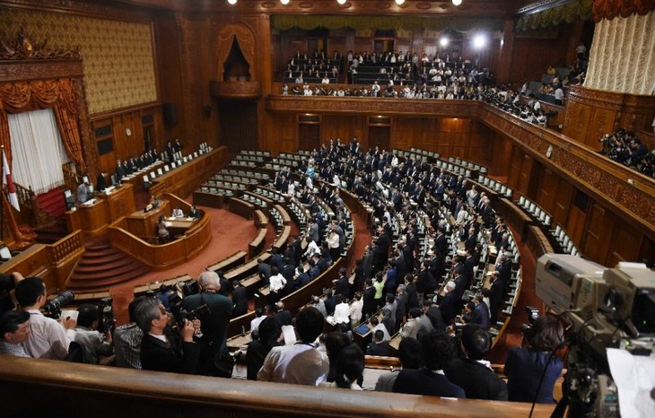 Japan's parliament approves controversial security bill - ảnh 1
