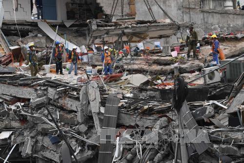 Two new quakes shake southern Mexico - ảnh 1