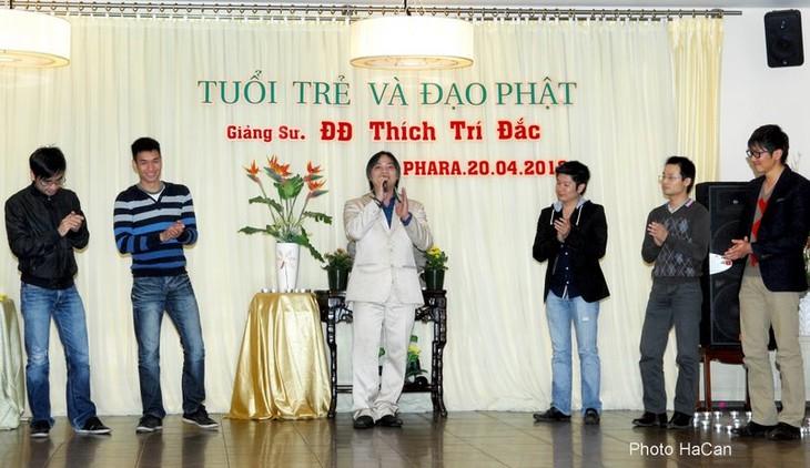 Tuổi trẻ kiều bào ở Cộng hòa Séc với đạo Phật - ảnh 9
