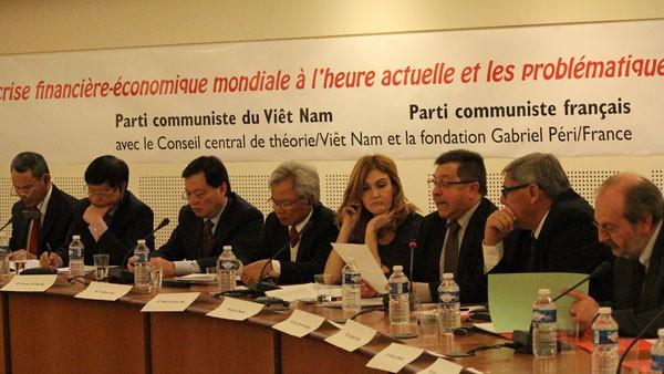 Hội thảo lý luận giữa Đảng Cộng sản Việt Nam và Đảng Cộng sản Pháp - ảnh 1