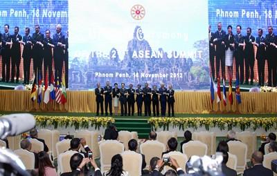Việt Nam đóng góp để tăng cường vai trò của Asean - ảnh 1