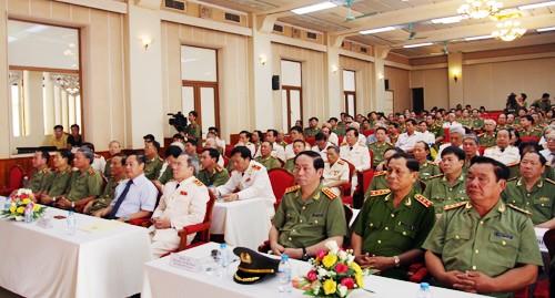 Bộ trưởng Trần Đại Quang dự kỷ niệm 60 năm Ngày truyền thống Lực lượng Ngoại tuyến  - ảnh 1