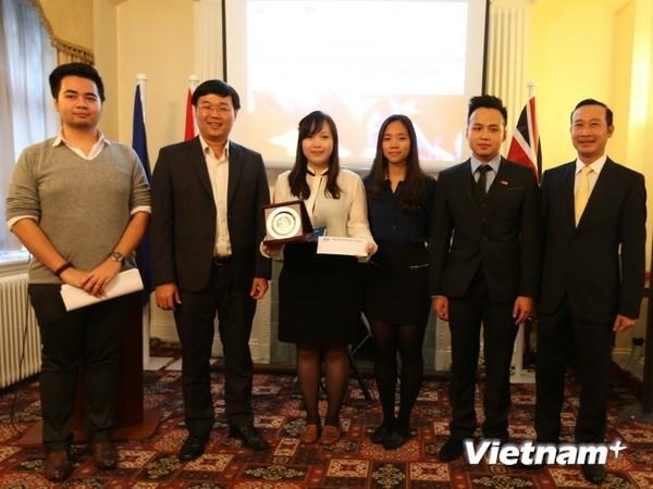 Hội Sinh viên Việt Nam tại Anh được công nhận thuộc Hội Sinh viên Việt Nam - ảnh 1
