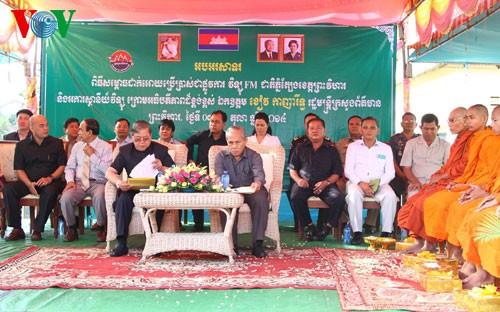 Campuchia khánh thành Đài phát thanh FM do Việt Nam tặng - ảnh 1