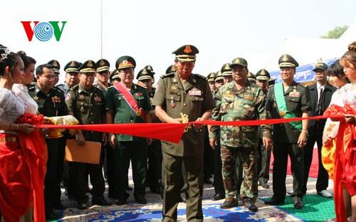 Pháo binh Campuchia có Sở Chỉ huy mới do Việt Nam xây tặng - ảnh 1