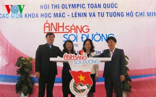 Đoàn Thành phố Hồ Chí Minh dẫn đầu Hội thi Olympic toàn quốc