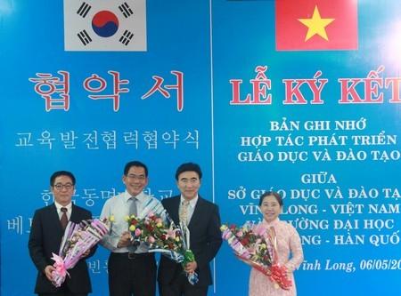 Vĩnh Long hợp tác phát triển giáo dục và đào tạo với Hàn Quốc  - ảnh 1