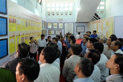 Triển lãm bản đồ, tư liệu khẳng định chủ quyền Hoàng Sa, Trường Sa tại Quảng Nam - ảnh 1