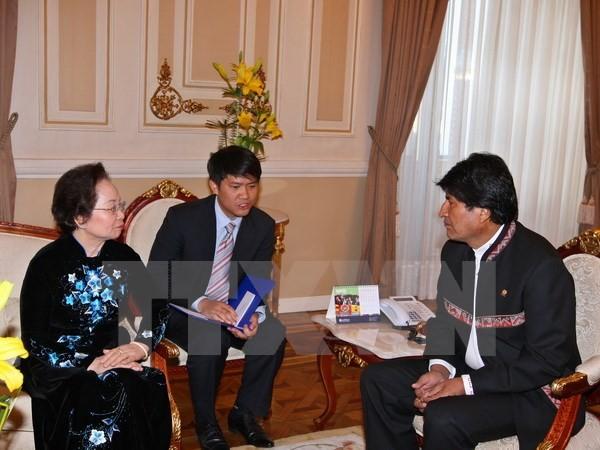 Khuyến khích các doanh nghiệp Bolivia tăng cường đầu tư, hợp tác tại Việt Nam - ảnh 1