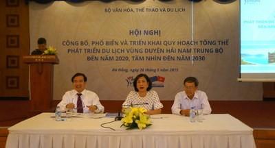 Quy hoạch tổng thể phát triển du lịch vùng duyên hải Nam Trung Bộ đến năm 2020, tầm nhìn đến năm 203 - ảnh 1