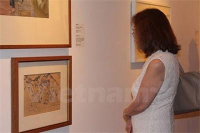 Trưng bày các tác phẩm nghệ thuật về chiến tranh Việt Nam tại Singapore - ảnh 1