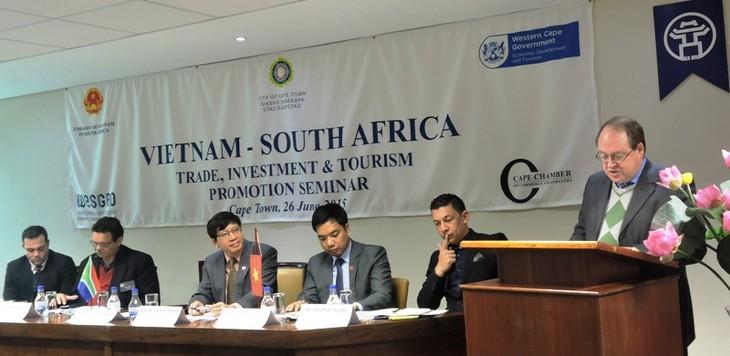 Diễn đàn quảng bá thương mại đầu tư và du lịch Việt Nam-Nam Phi  - ảnh 1
