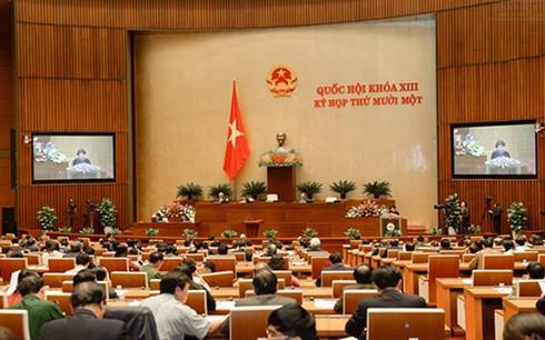 Quốc hội bước sang tuần làm việc thứ 3 - ảnh 1