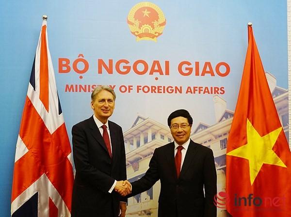 Việt Nam và Vương quốc Anh tăng cường quan hệ hợp tác - ảnh 1