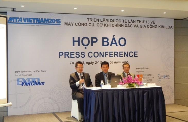 Sắp diễn ra triển lãm quốc tế hàng đầu về máy công cụ, cơ khí tại Việt Nam - ảnh 1