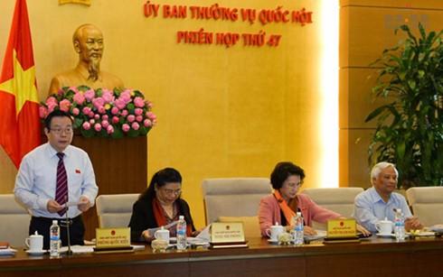 Bế mạc Phiên họp thứ 47 Ủy ban Thường vụ Quốc hội khóa XIII  - ảnh 1